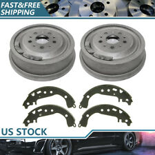 Rear Kit Brake Drums & Brake Shoes For 1966-1968 Ford Country Sedan High Quality