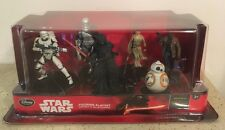 Star Wars Deluxe Disney Store 6 Figurine Playset. New & Sealed. Collectible