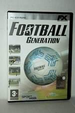 FOOTBALL GENERATION GIOCO USATO OTTIMO PC CDROM VERSIONE ITALIANA RS2 41530