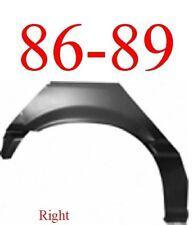 86 89 Honda Accord 2 Door Right Rear Upper Wheel Arch Repair Panel