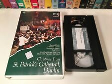 Christmas From St. Patrick's Cathedral, Dublin VHS 1988 Irish Holiday Music