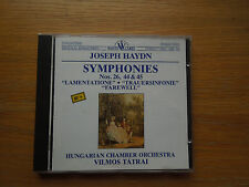 Symphonies No 26 44 45 Joseph Haydn CD White Label HRC 102