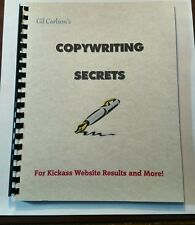 Copywriting Secrets Book for Success with Website Sales, Internet Content, Marke