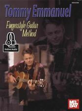 Tommy Emmanuel Fingerstyle Guitar Method TAB Music Book with Audio Learn To Play