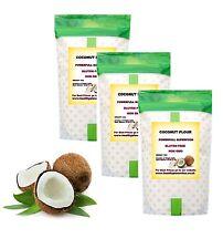 COCONUT POWDER COCONUT FLOUR 1KG 100% PURE  RAW GLUTEN FREE NON GMo -FREE UK P&P