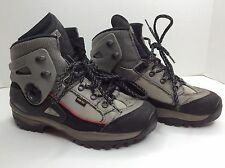 LOWA Vibram Biomex Protection Mens Black Gray Climb Walking Hiking Boots SZ 7.5