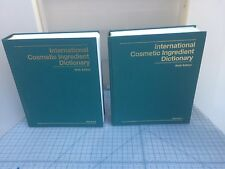 International Cosmetic Ingredient Dictionary Sixth Edition