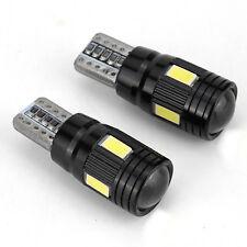 2 x T10 Super Bright 5730 LED Light Bulb Width Lamp License Plate Light 6000K