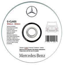 Mercedes Classe G W463 (200/230/300 GE-250/300 GD)  manuale riparazione su cd