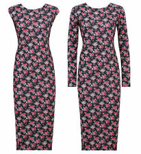 Unbranded Viscose Machine Washable Floral Dresses for Women