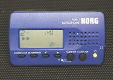 """Métronome KORG MA-1 Bleu  >>> expédition rapide <<<  """" Gardez le tempo ! """""""