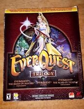 Vintage Everquest Trilogy Pc Game Set In Box Win 95 98 Xp Cd Rom