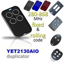 Clave de control remoto universal 315/418/433/868MHZ Clon Portón Eléctrico Puerta De Garaje