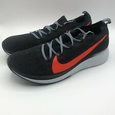 Nike Zoom Fly Flyknit Running Shoes AR4561-005 Men Size 10 Athletic Sneakers