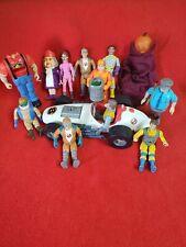 Lot Of Vintage 1980's Kenner Real Ghostbusters Figures Nice!