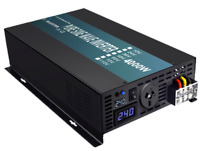 4000W Pure Sine Wave Inverter 24V to 240V Solar Home Garden Power Converter DC