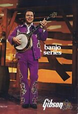 ORIGINAL Vintage 1975 Roy Clark Banjo Series Gibson Catalog