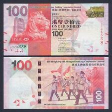 HONG KONG 100 Dollars 2014 UNC P 214 d
