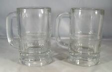 Libbey Libby  Clear Glass Beer Mug Stein Root Beer Float 10 oz. 5 1/2 ins. tall