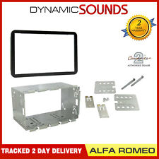 Connects2 CT23AR01 Double DIN Stereo Fascia Fitting Kit Black For Alfa Romeo