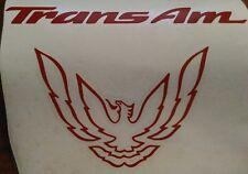 1993-2002 Pontiac Firebird Trans Am WS6 Filler Panel Decal HIGHLY DETAILED