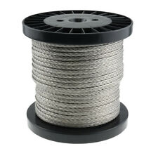 8mm x 100m Dyneema SK78 Rope -8600kg Rated- Synthetic Fishing Marine Yacht