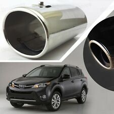 Stainless Steel Exhaust Muffler Tail Pipe Tip Tailpipe for Toyota Rav4 2013-2014