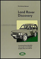 Land Rover Discovery Shop Manual 1994 1993 1992 1991 1990 1989 Repair Service