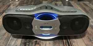 Sony Boombox CFD-F10 CD Player AM/FM Radio Cassette Recorder Mega Bass Working