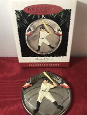 New York Yankees Lou Gehrig Baseball Heroes Hallmark Keepsake Ornament 1995