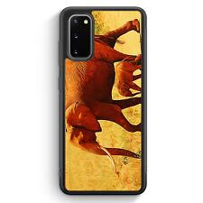 Elefant Familie Silikon Hülle für Samsung Galaxy S20 Motiv Design Tiere Schön...