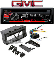JVC Single DIN CD Player Car In-Dash Receiver Stereo For 1998-2001 GMC Envoy