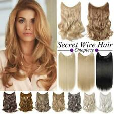 Real Long Wire In Curly Hidden Halos Secret Wire In As Human Hair Extensions US