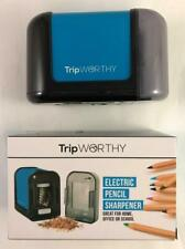 NEW TripWorthy Electric Battery Operated Pencil Sharpener Cordless