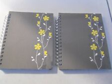 Liz Diller Carolina Pad Souther Charm Floral Flower 2 Notebooks Lavender 7 x 9""