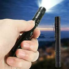 Portable Mini Small LED Pen Light Pocket Flashlight Torch Lamp UK