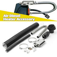 24mm Exhaust Silencer + Filter Exhaust Pipe Ducting Outlet For Air Diesel Heater