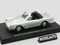 Autocult 1:43 Maserati 3500GT Special Spyder Vignale silver 1960 L.E. 333 pcs