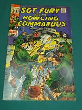 MARVEL COMICS GROUP SGT. FURY AND HIS HOWLING COMMANDOS #63 2/1969 AWESOME COPY!