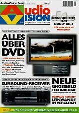 Film-Zeitschrift # Home Entertainment # AudioVision # Heft 06/1996 # Nov.-Dez.