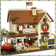 Billy Doll House Miniature Model Kit Handcraft Orange Farm Japanese figure