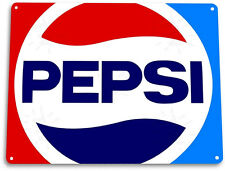 "TIN SIGN ""Pepsi Cola 80's"" Metal Decor Wall Art Shop Kitchen Soda Cave A139"