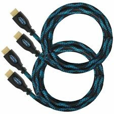 Twisted Veins Hdmi Cable, 15ft, 2-Pack