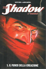 THE SHADOW L'OMBRA VOL 1 E 2 SERIE COMPLETA - GARTH ENNIS - AARON CAMPBEL NUOVOL