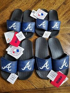 Atlanta Braves YOUTH Slide Flip Flop Sandals S, M, L, XL Youth Sizes