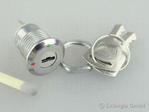 10x MINIATUR Schlüsselschalter 2 Positionen mini key switch  2-position schalter