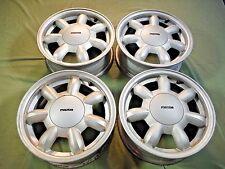 Miatamecca Daisy Wheel Rim Set W/New Hub Caps Style-2 90-93 Miata MX5 8BN137600