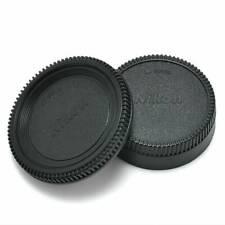 Body Lens Cap Cover (Front + Rear) For Nikon AF AF-S Lens DSLR SLR Camera Hot