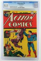 Action Comics #73 DC 1944 -HIGH GRADE- CGC 8.5 VF+ Superman - 2nd HIGHEST GRADE!