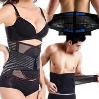 Men Women Lower Lumbar Support For Back Pain Relief Waist Belt Brace Breathable